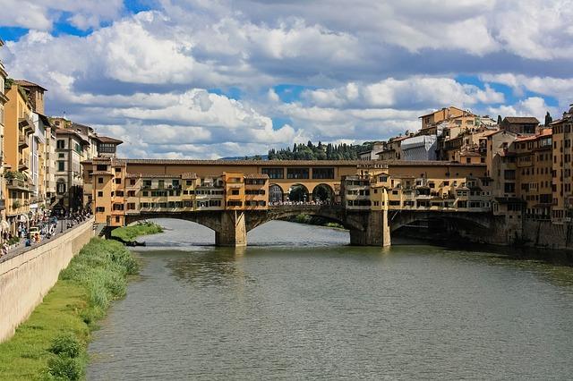 řeka ve Florencii