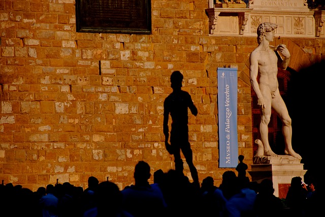 socha v Itálii