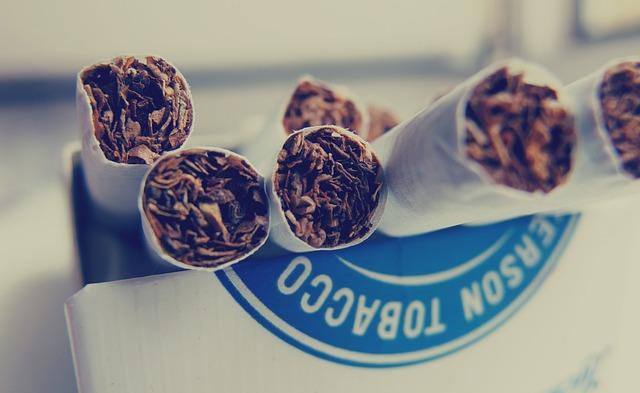 cigarety v krabičce