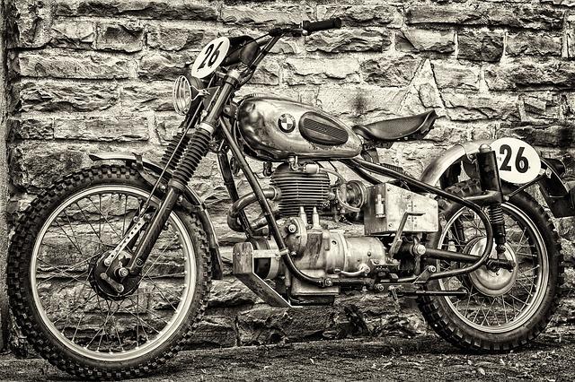 motorka stará