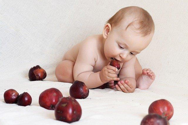 batole a jablka