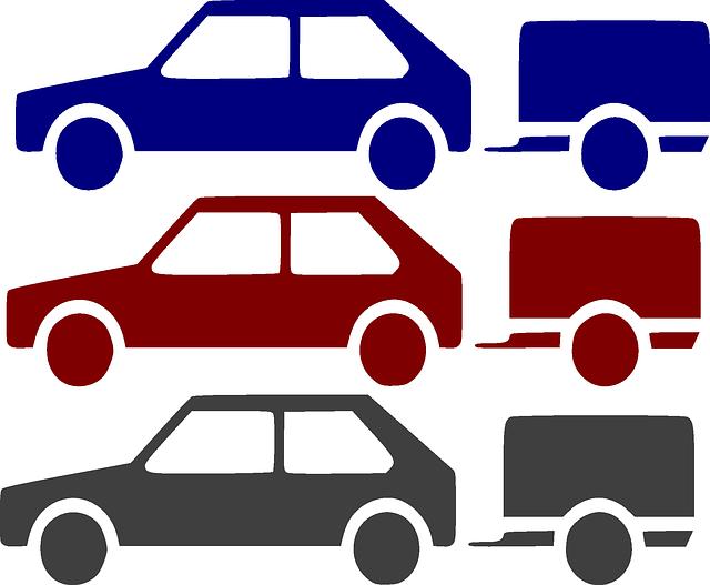 auta s přívěsy