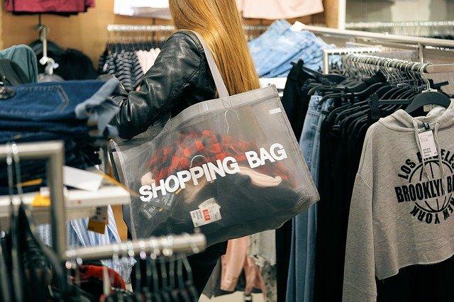 taška na nákup