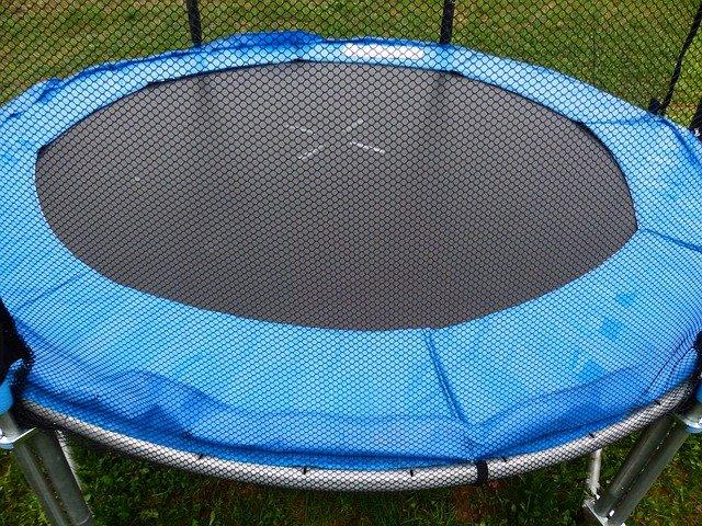 ochrana trampolíny