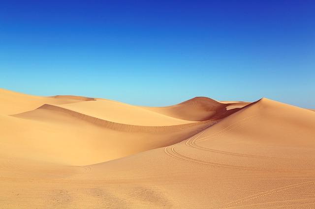 pouštní duny